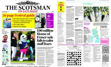 The Scotsman – August 11, 2018