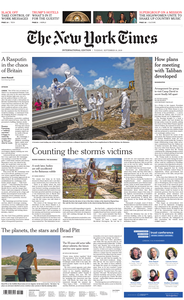 International New York Times - 10 September 2019