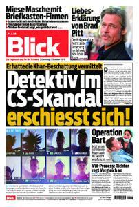 Blick – 01. Oktober 2019