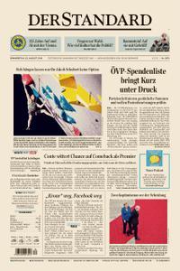 Der Standard – 22. August 2019