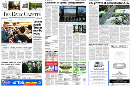 The Daily Gazette – January 31, 2020