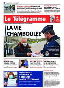 Le Télégramme Auray – 18 mars 2020