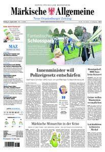 Neue Oranienburger Zeitung - 13. August 2018