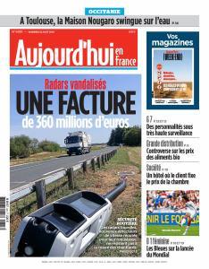 Aujourd'hui en France du Vendredi 23 Août 2019