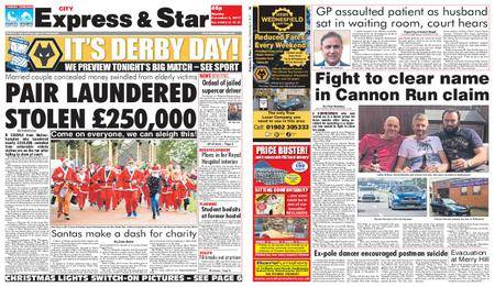 Express and Star City Edition – December 04, 2017