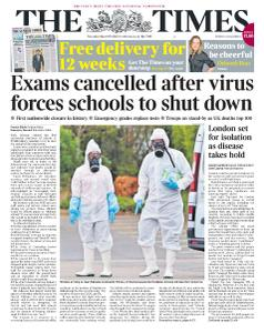 The Times - 19 March 2020