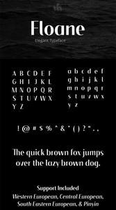 Floane Elegant Typeface