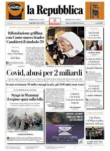 la Repubblica - 1 Marzo 2021