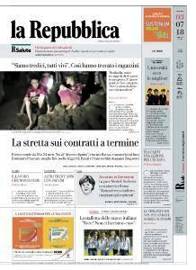 la Repubblica - 3 Luglio 2018