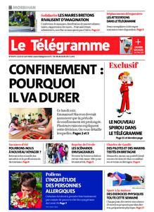 Le Télégramme Auray – 13 avril 2020