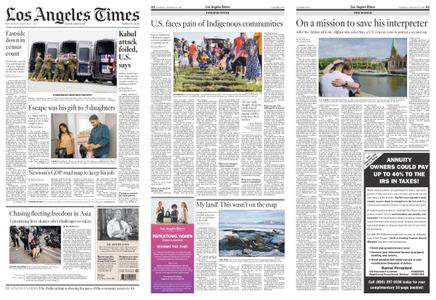 Los Angeles Times – August 30, 2021