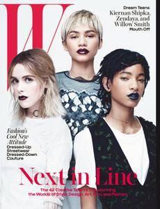 W Magazine - April 2016