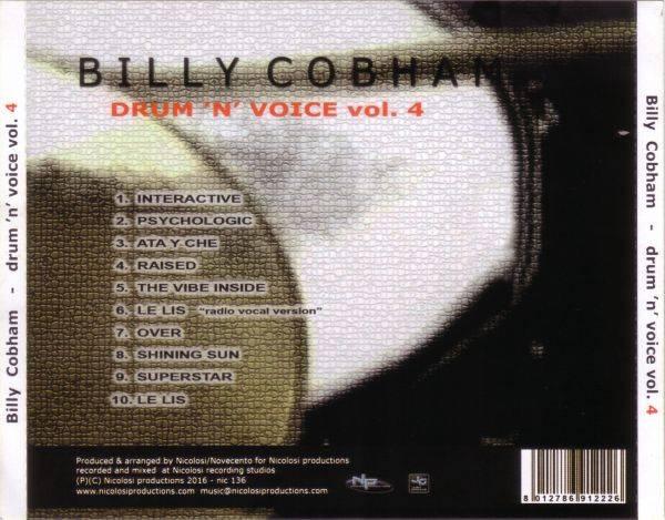 Billy Cobham Drum N Voice Vol 4 2016 Np Avaxhome