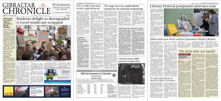 Gibraltar Chronicle – 18 August 2020