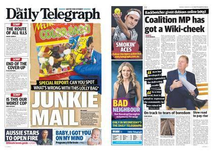 The Daily Telegraph (Sydney) – January 15, 2018
