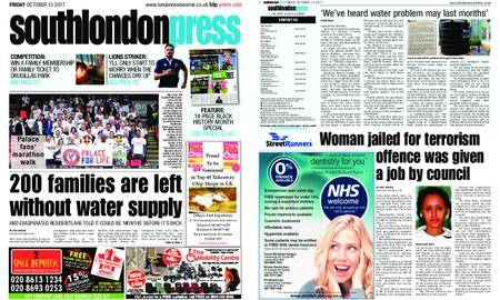 South London Press – October 13, 2017