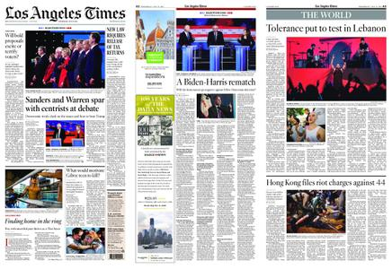 Los Angeles Times – July 31, 2019