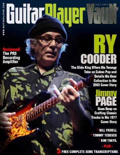 Guitar Player Vault - July 2011