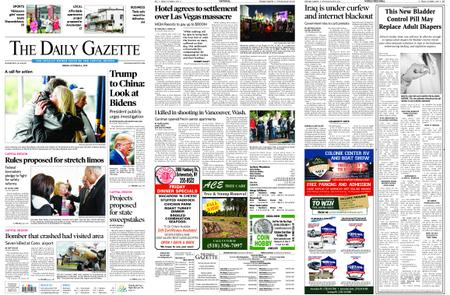 The Daily Gazette – October 04, 2019