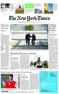 International New York Times - 28 April 2018