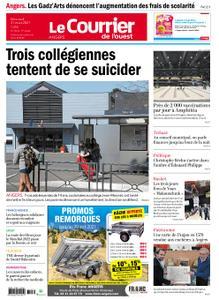 Le Courrier de l'Ouest Angers – 31 mars 2021