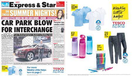 Express and Star City Edition – August 16, 2018