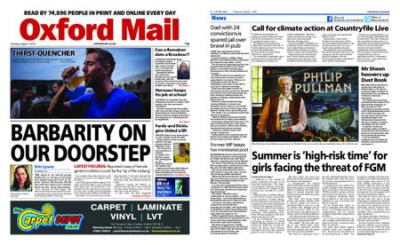 Oxford Mail – August 01, 2019