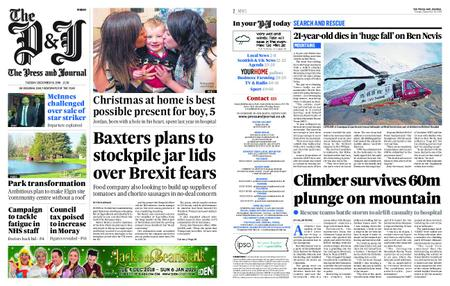 The Press and Journal Moray – December 18, 2018