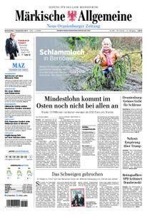 Neue Oranienburger Zeitung - 07. Dezember 2017