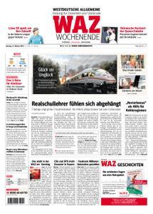 WAZ Westdeutsche Allgemeine Zeitung Oberhausen-Sterkrade - 13. Oktober 2018