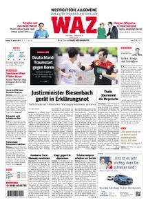 WAZ Westdeutsche Allgemeine Zeitung Oberhausen-Sterkrade - 11. Januar 2019