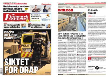 Finnmark Dagblad – 05. desember 2019