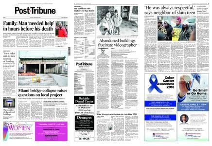 Post-Tribune – March 18, 2018