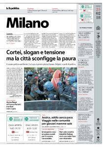 la Repubblica Milano - 25 Febbraio 2018