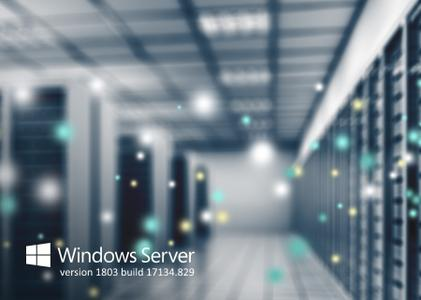 Windows Server version 1803 build 17134.829