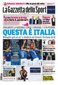 La Gazzetta dello Sport – 15 ottobre 2018