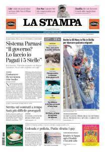 La Stampa Torino Provincia e Canavese - 15 Giugno 2018