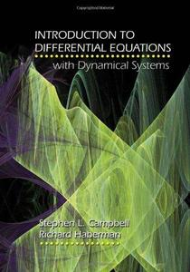 Introduction to differential equations with dynamical systems (Repost)