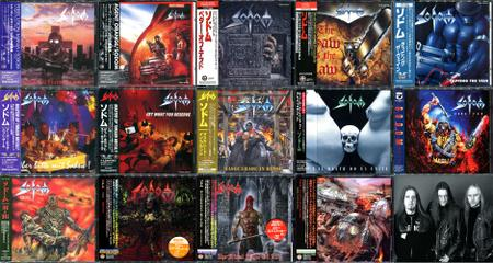 Sodom: Collection (1987-2010) [14CD, Japanese edition]