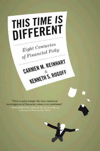 This Time is Different: Eight Centuries of Financial Folly - by Carmen Reinhart