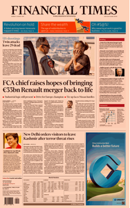 Financial Times USA – 05 August 2019