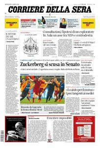 Corriere della Sera - 11 Aprile 2018