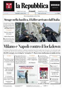 la Repubblica - 30 Ottobre 2020
