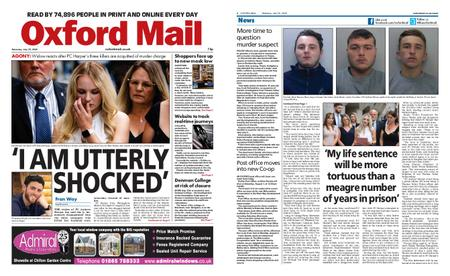 Oxford Mail – July 25, 2020