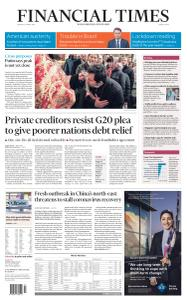 Financial Times Middle East - April 20, 2020
