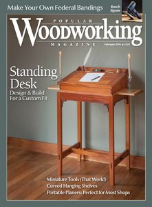 Popular Woodworking - February-March 2016