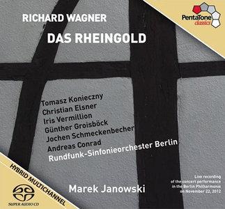 Wagner - RSO Berlin / Marek Janowski - Das Rheingold (2012, Pentatone # PTC 5186 406) {2x Hybrid-SACD // EAC Rip} [RE-UP]