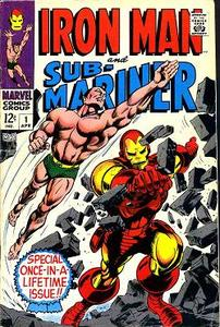 Iron Man and Sub-Mariner Special