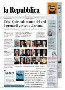 la Repubblica - 4 Maggio 2018