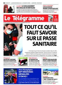 Le Télégramme Brest Abers Iroise – 09 août 2021